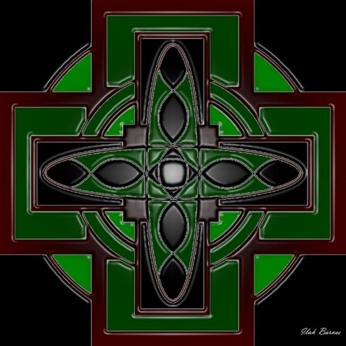 Dark Forest Celtic Cross