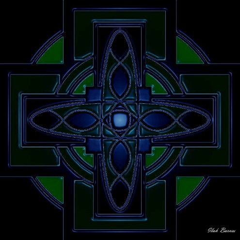 midnight celtic cross