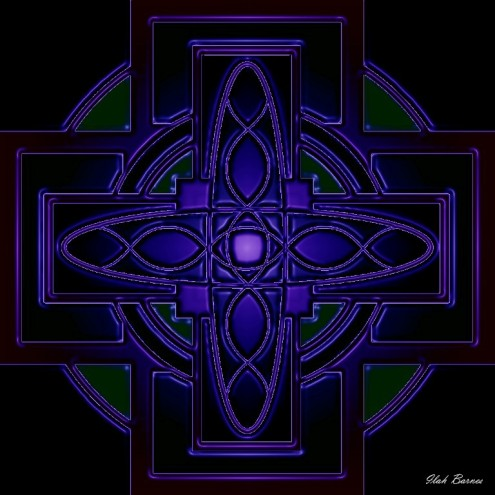 mystic night celtic cross